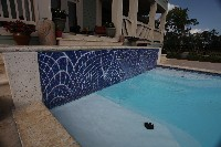 Luxor Deep Fiberglass Pool in Trenton, TN